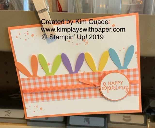 Stampin' Up! Daisy Punch and Fable Friends Stamp Set