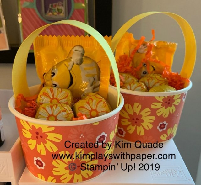 Stampin' Up! May Baskets