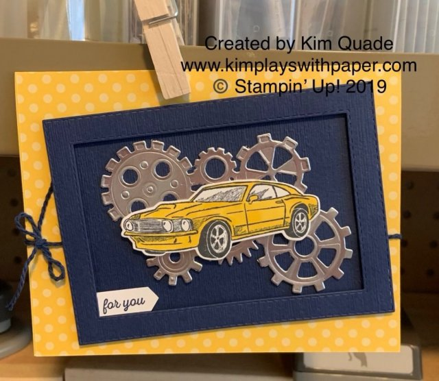 Stampin' Up! Geared Up Garage Bundle