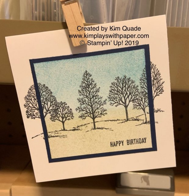 #simplestamping/Stampin' Up! Lovely as a Tree
