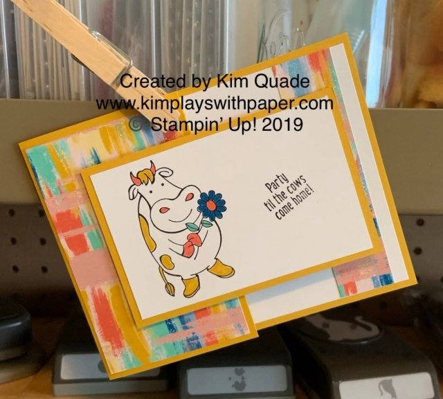 Stampin' Up! Over the Moon, Follow Your Art Designer Series Paper