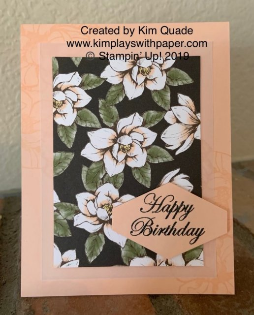 Stampin' Up! Magnolia Lane Designer Series Paper