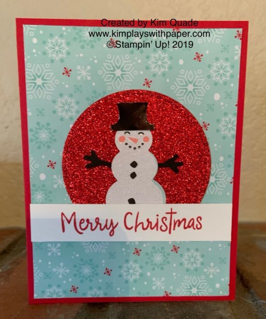 Stampin' Up Snowman Season