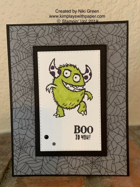 Stampin' Up! Boo to You
