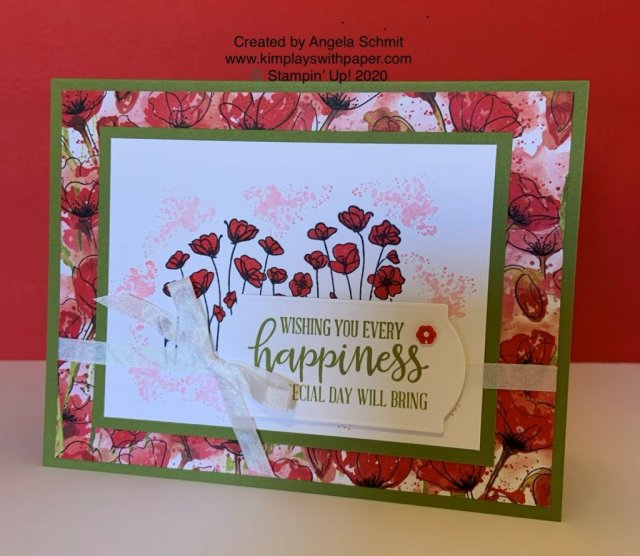 Stampin' Up! Peaceful Poppies Suite