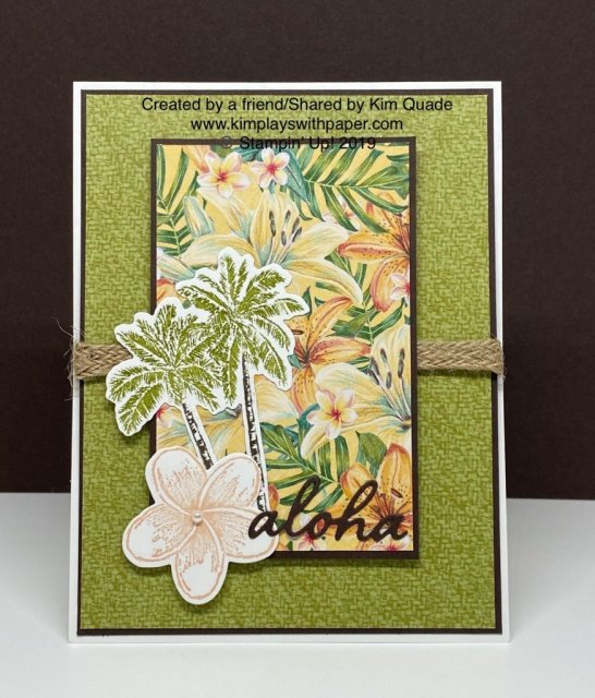 Tropical Oasis Suite by Stampin' Up!