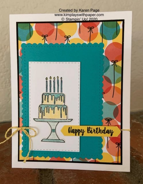 Stampin' Up! Piece of Cake