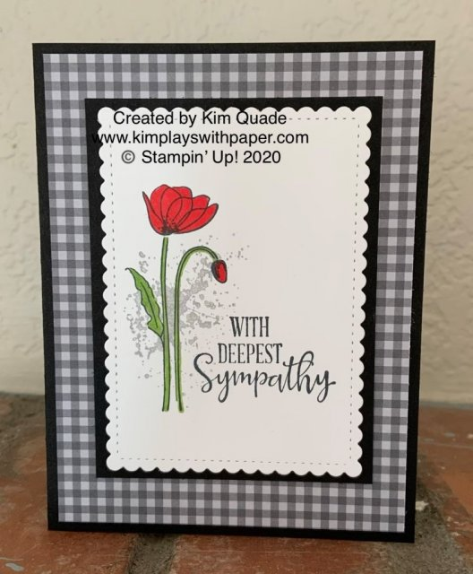 Stampin' Up! Peaceful Moments Sympathy