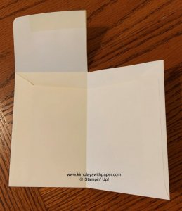 Wedding Wishes Gift Card Envelope