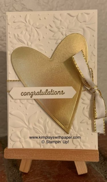 Wedding Wishes Gift Card Holder