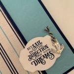 Sail Away Graduation Card Tutorial