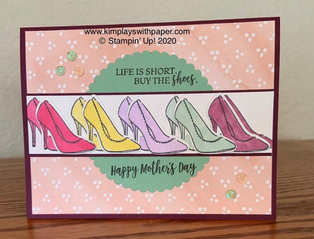 Mother's Day Card Sample for Team Stamp It Blog Hop