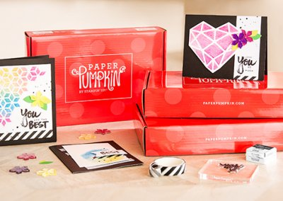 Kits can include cards, banners, treat bags, or boxes!