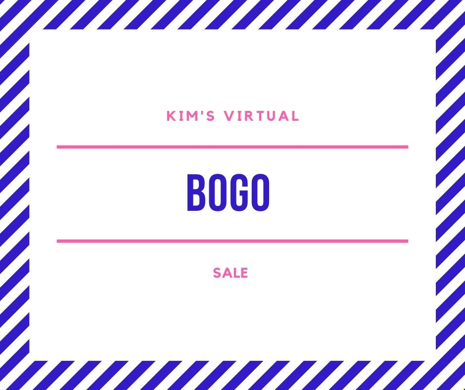 Virtual Stamp and Craft BOGO Sale