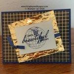 Beautiful World Card Sample