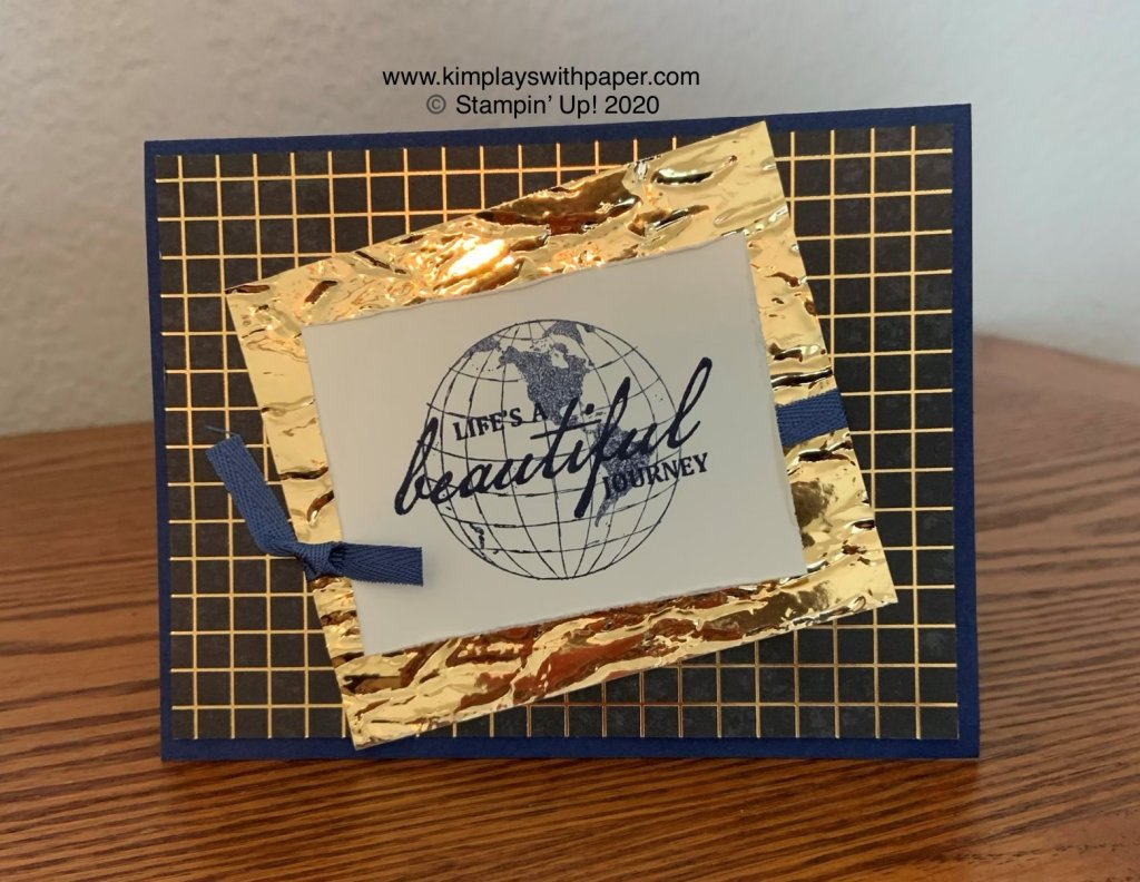 Beautiful World Card Sample